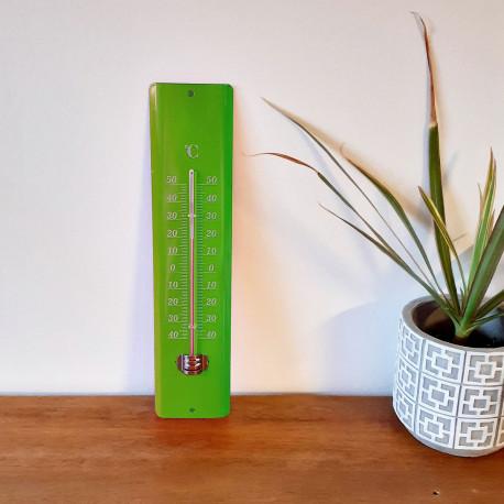 Thermomètre acier 20 cm