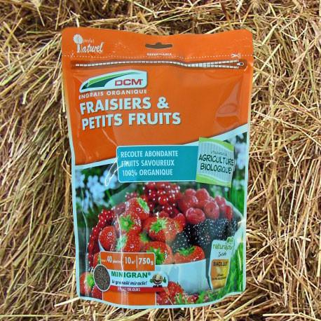 Engrais organique Fraisiers & Petits Fruits